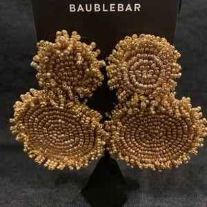 BaubleBar Gold Beaded Earrings